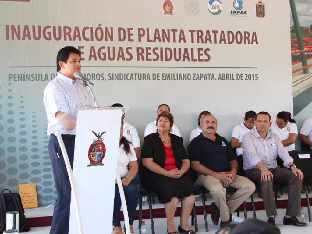 Entra en operación planta tratadora en la Península de Villamoros