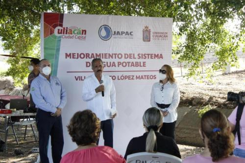 Alcalde inicia obras para mejorar el servicio de agua potable en El Tamarindo
