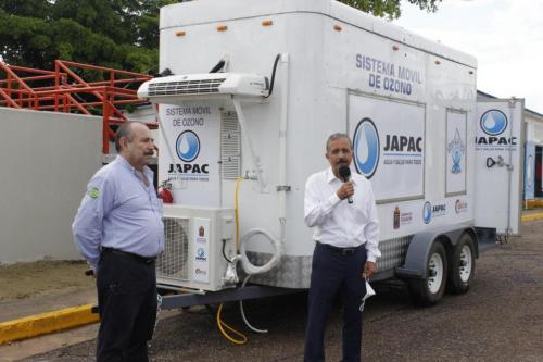 Culiacán se coloca a la vanguardia al potabilizar  con ozono: JEF