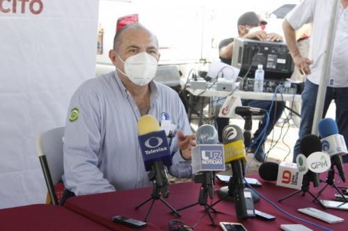 Desde hoy 130 familias de Culiacancito gozan del servicio de alcantarillado sanitario.